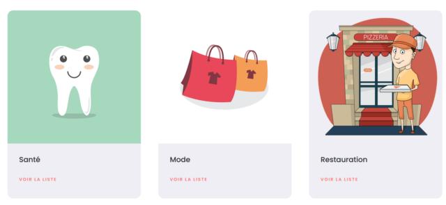 portail des boutiques de votre ville catégories
